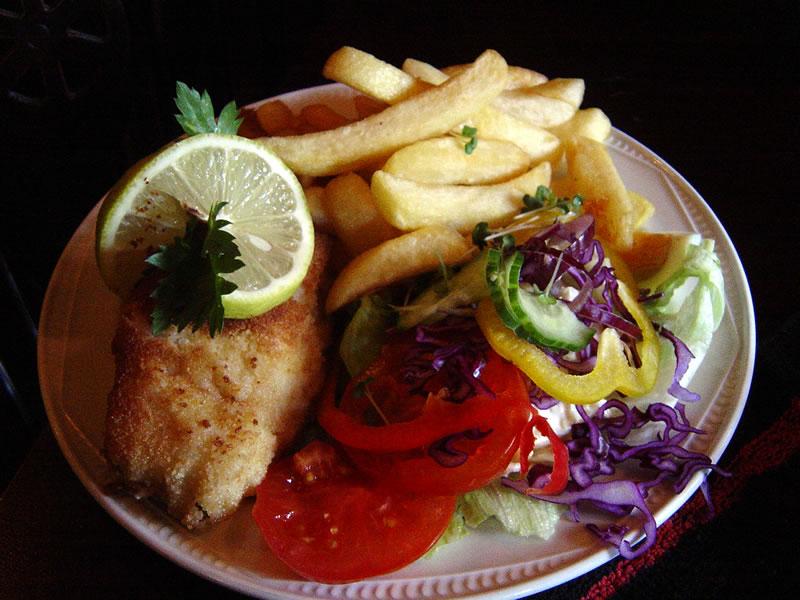Fish Meal - Weybridge Pub Food At The Old Crown