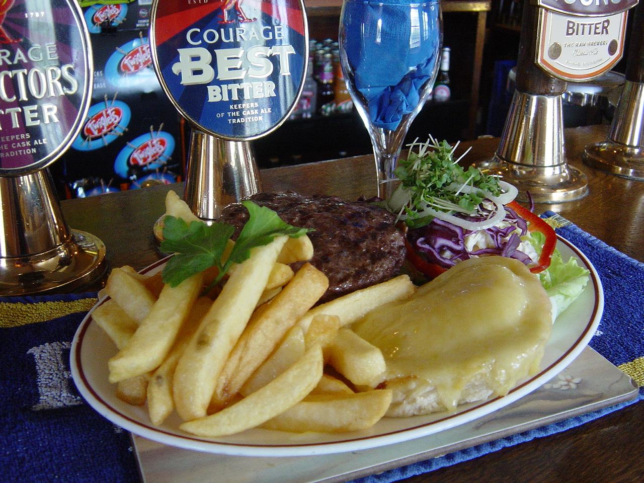 Old Crown Weybridge Elmbridge Pub Food - Steak Meal
