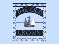 Old Crown Pub Weybridge Surrey