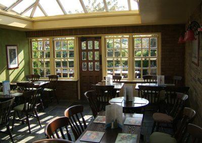 Conservatory Dining Room - Old Crown Pub Weybridge Surrey
