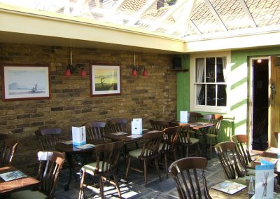 Conservatory Dining Room at The Old Crown Pub Weybridge Surrey