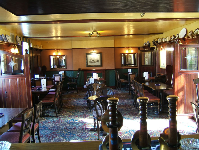 Lounge Bar at The Old Crown Public House Weybridge Surrey