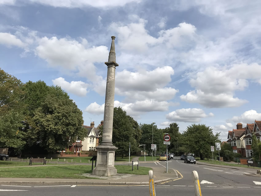 Weybridge Monument Green Photo - Towards Thames Street