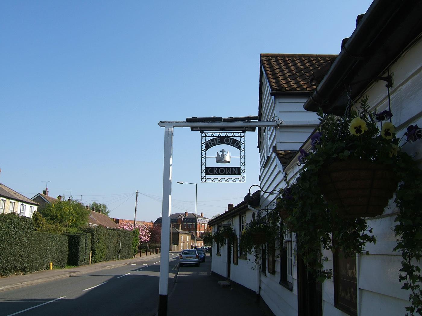 The Old Crown Pub Weybridge Surrey