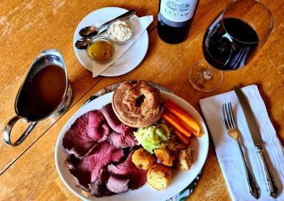 Roast Beef Meal - Old Crown Pub Weybridge